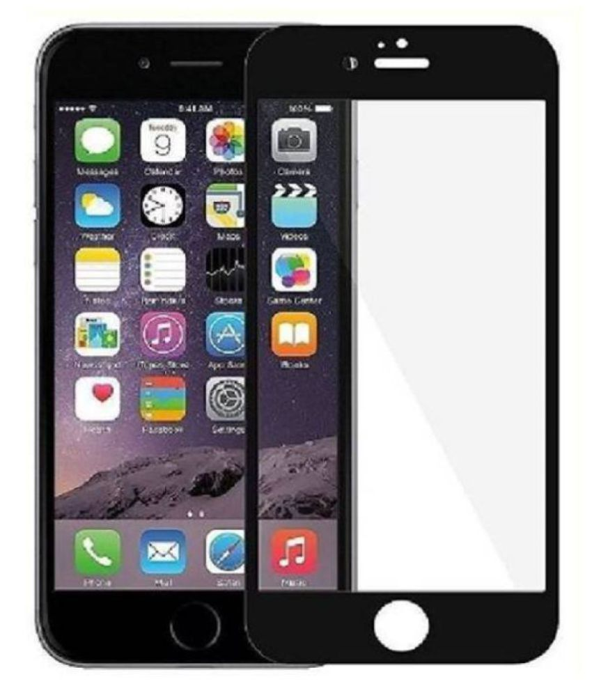 Apple iPhone 6 Plus Tempered Glass Screen Guard By Robux 4D Anti Fingerprint/Scratch Resistant