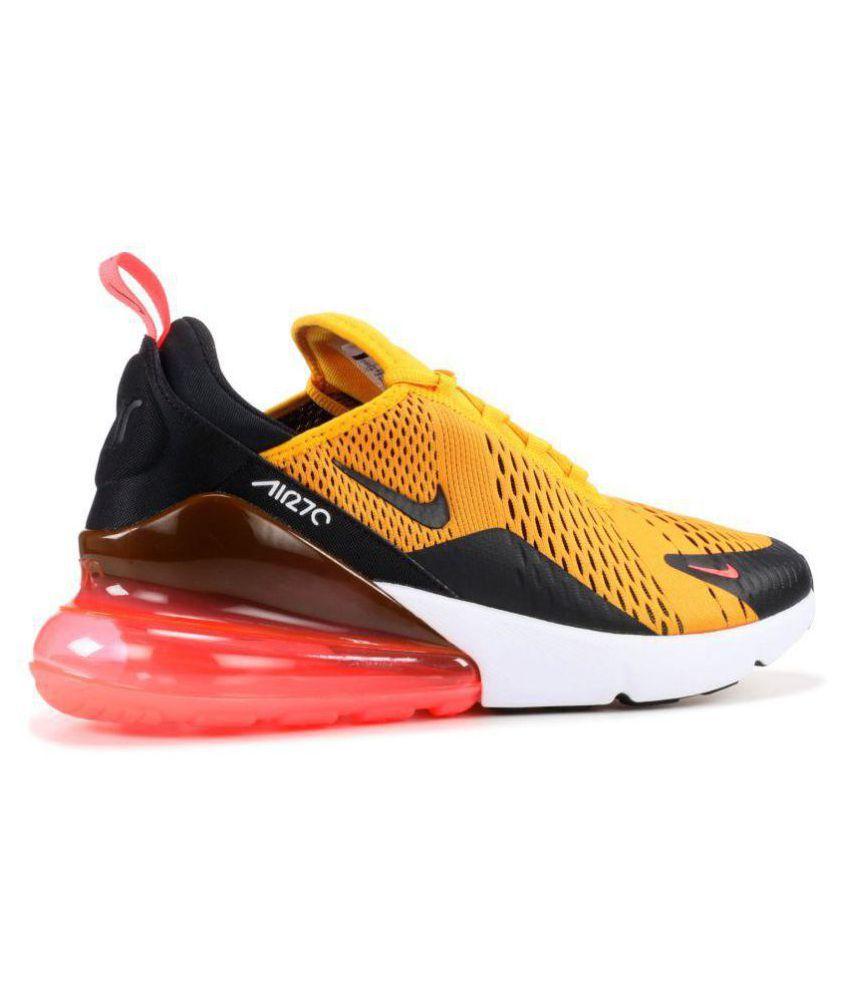 52efc05dab2 Nike AIR MAX 270 TIGER Yellow Running Shoes - Buy Nike AIR MAX 270 ...