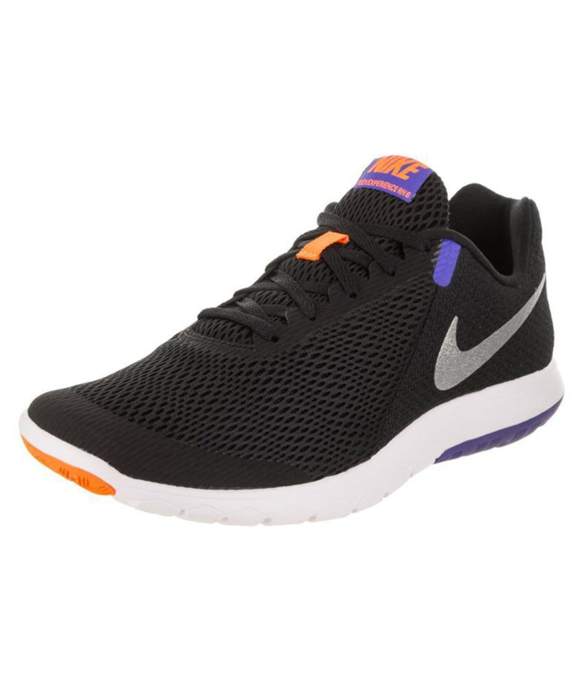ad3e3320d148 Nike FLEX EXPERIENCE RN 6 Black Running Shoes - Buy Nike FLEX EXPERIENCE RN  6 Black Running Shoes Online at Best Prices in India on Snapdeal