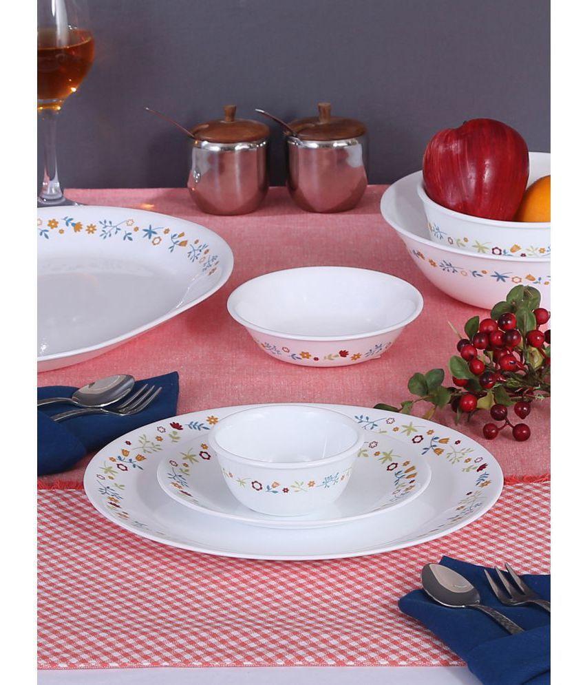 Corelle Glass Dinner Set of 14 Pieces