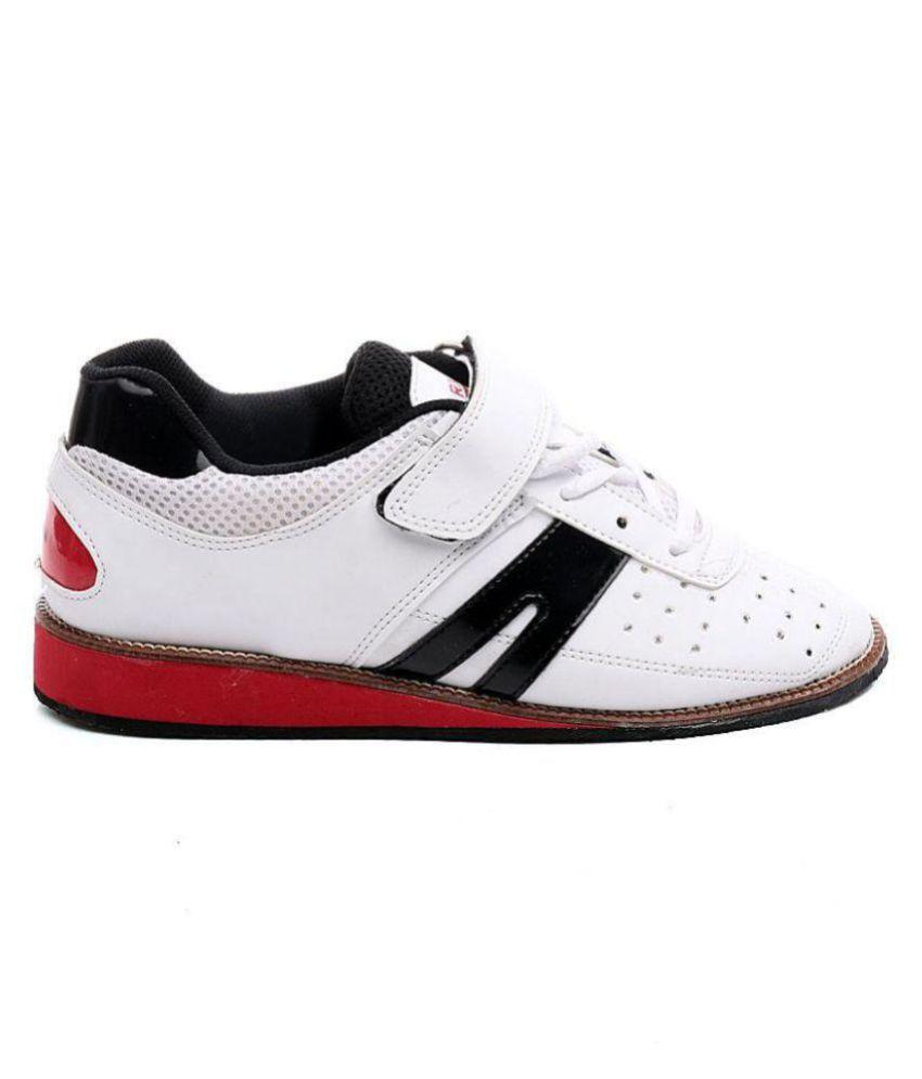 RXN Weightlifting \u0026 Gym Shoes White