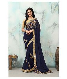 281e1e0608 Georgette Saree: Buy Georgette Saree Online in India at low prices ...