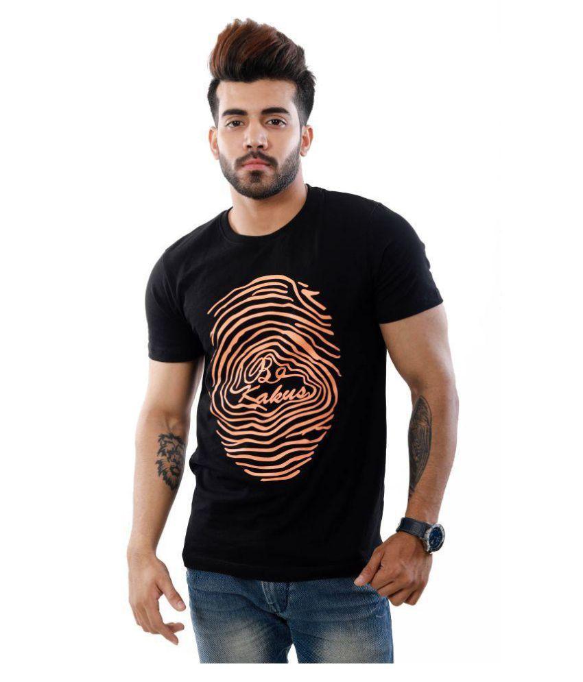 Kakus Collection Black Round T-Shirt