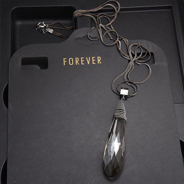 newest brand women fashion Luxury jewelry High grade zircon Necklace