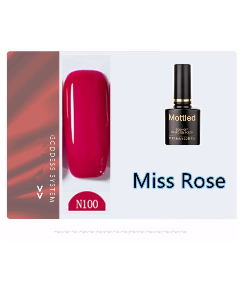 Miss Rose Nail Polish N100 As Picure Glossy 35g gm