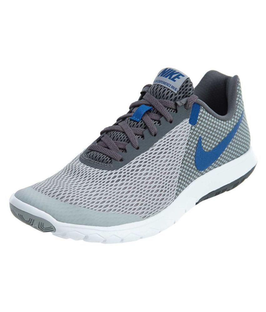 52c3825501e Nike FLEX EXPERIENCE RN 6 Grey Running Shoes - Buy Nike FLEX EXPERIENCE RN 6  Grey Running Shoes Online at Best Prices in India on Snapdeal