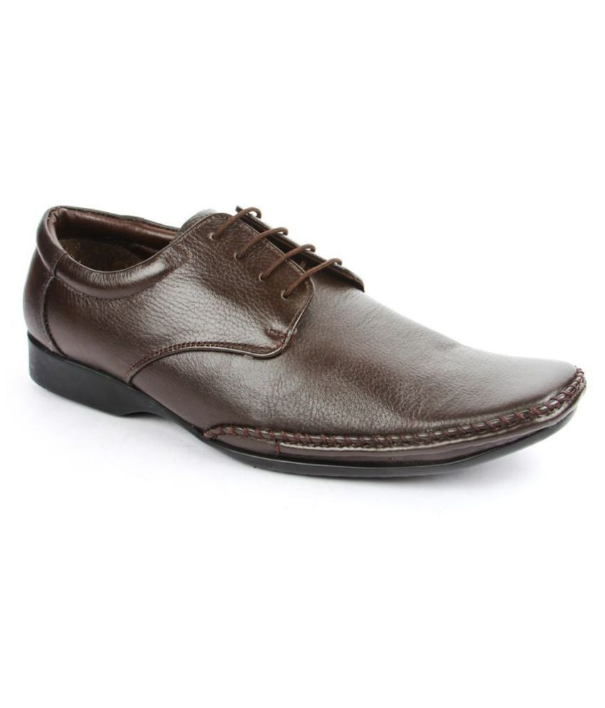 Fortune By Liberty Brown Formal Shoes