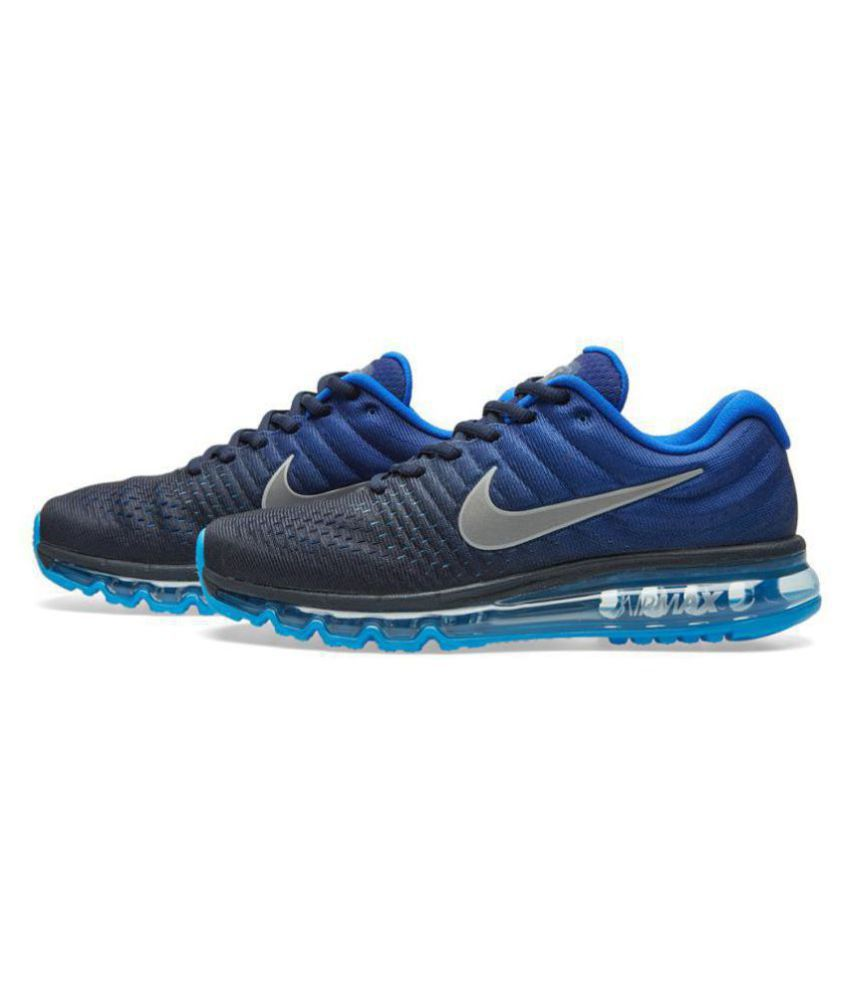 c2504d7f8c Nike AIRMAX 2017 ALL COLOUR Blue Running Shoes - Buy Nike AIRMAX ...