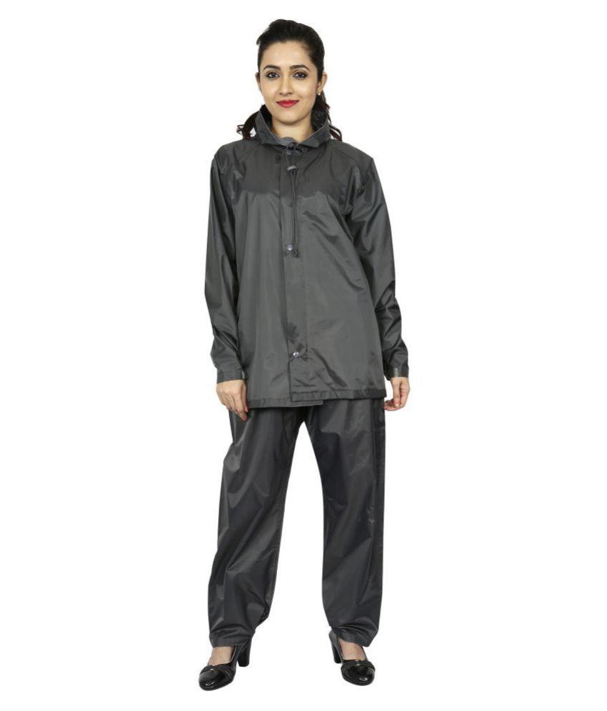 Reliable PVC Raincoat Set - Grey