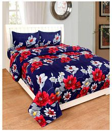 Quick View. Countingbeds Poly Cotton Double Bedsheet ...