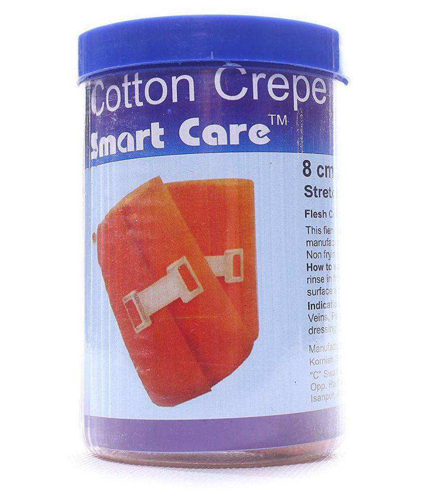 Smart Care Crepe Bandage  6cm*4mtr Cotton