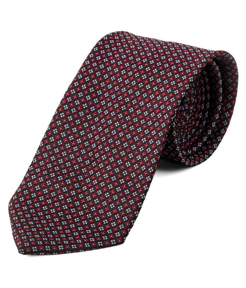Jaaffi Multi Polka Dots Micro Fiber Necktie