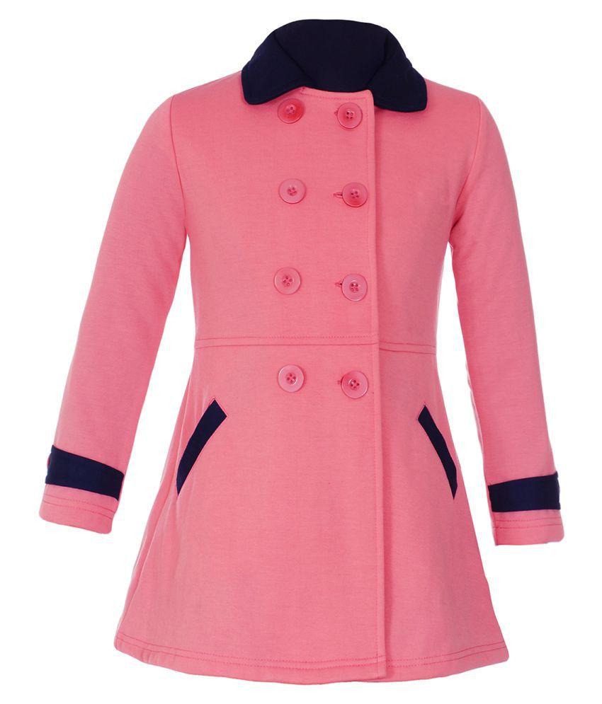 Naughty Ninos Girls Pink Fleece Jacket