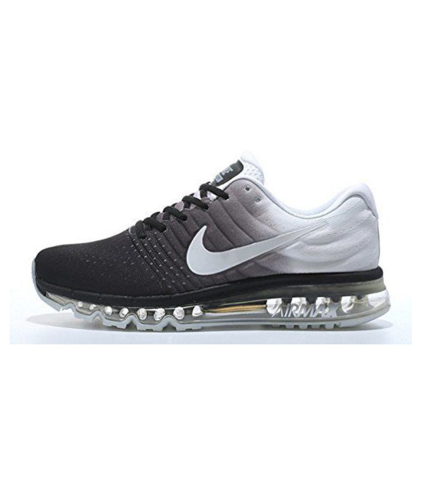 sports shoes f53b5 e77e7 Nike Air Max 2017 White Running Shoes - Buy Nike Air Max 2017 White Running  Shoes Online at Best Prices in India on Snapdeal