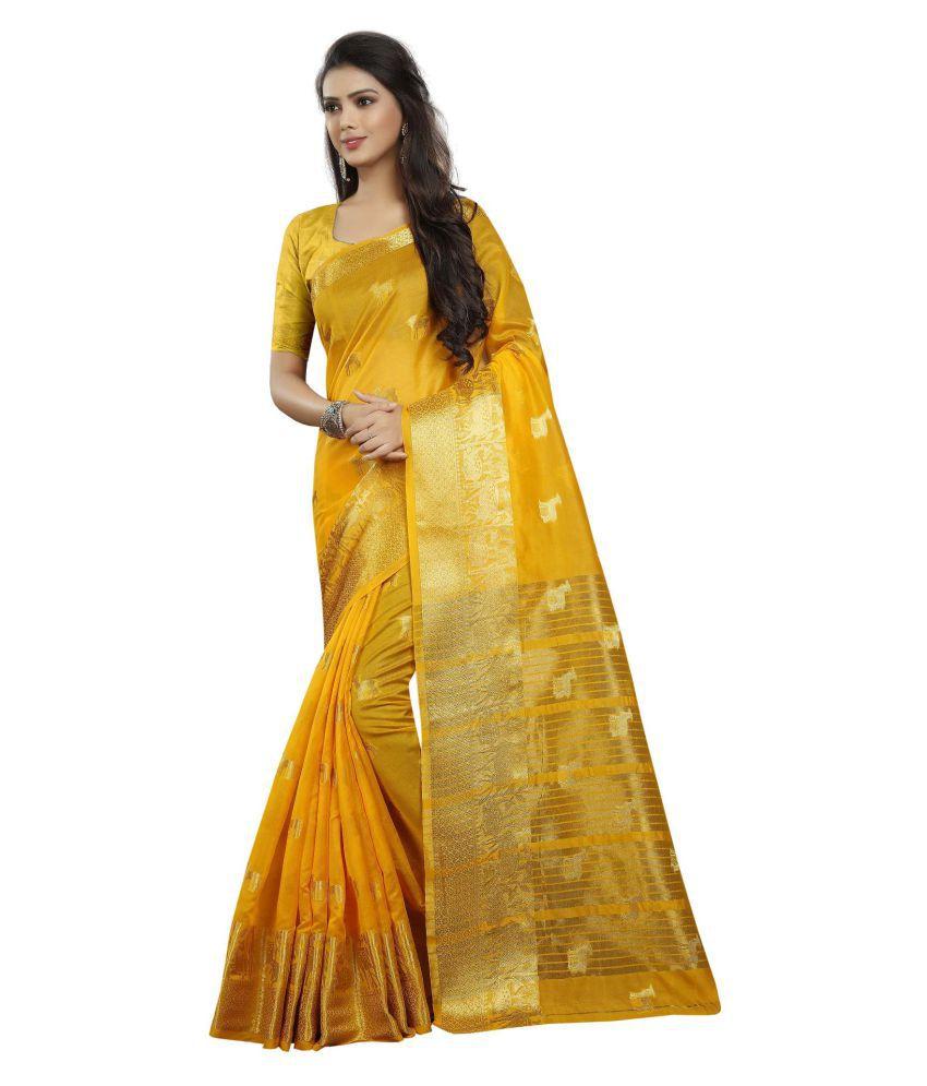 Concepta Multicoloured Cotton Silk Saree