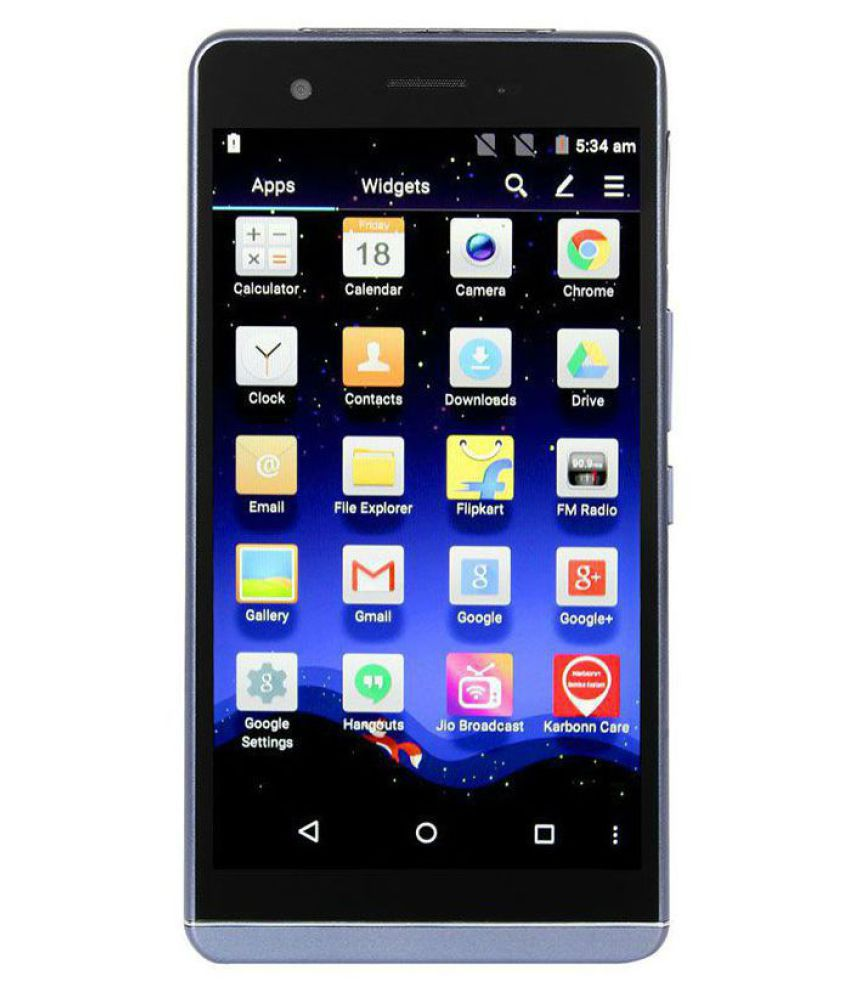 Karbonn Aura 1 (16GB, 2GB RAM) - 4G Waterproof Smartphone
