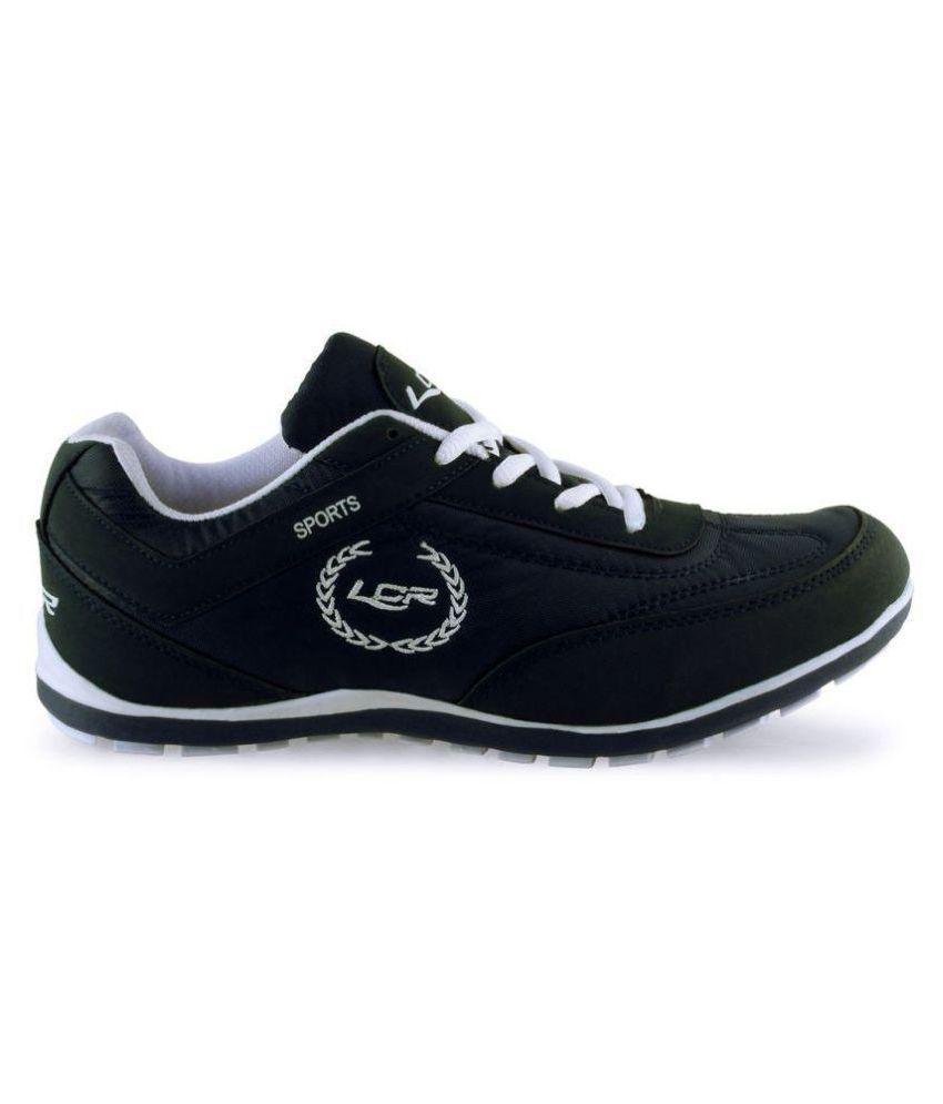 Lancer perthblk-wht Black Running Shoes - Buy Lancer