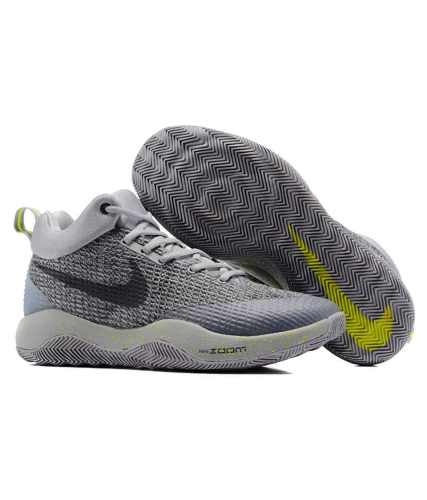 Nike ZOOM HYPER REV 2017 Grey Running Shoes