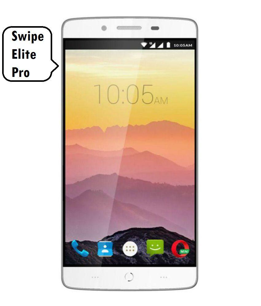 Swipe Elite Pro (32GB, 3GB RAM) - with Finger Print sensor
