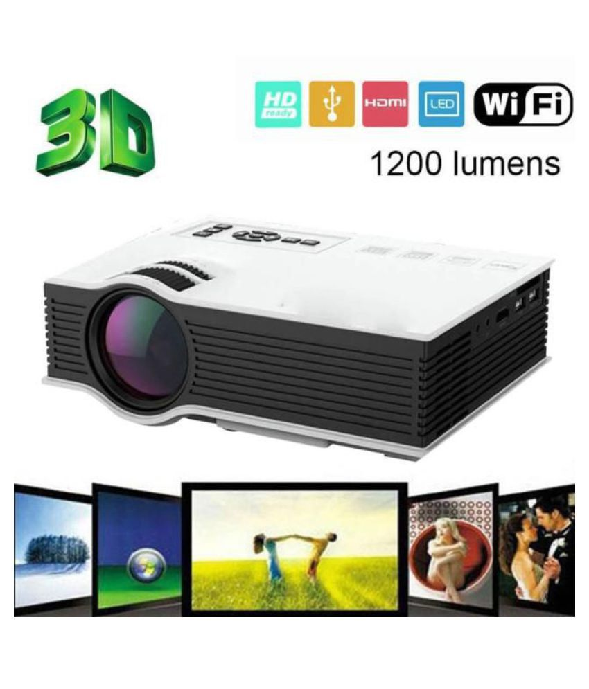 UNIC UC 46 LED Projector 1920x1080 Pixels (HD)