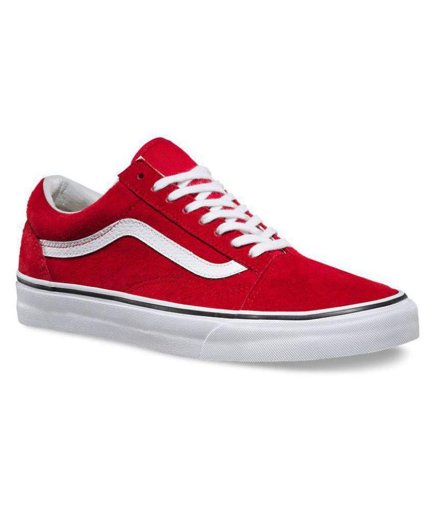 e24425bdadc92f VANS Old Skool Red Casual Shoes - Buy VANS Old Skool Red Casual ...