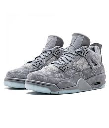 buy popular 61a54 52c62 Quick View. AIR JORDAN KAWS 4 Gray Basketball Shoes