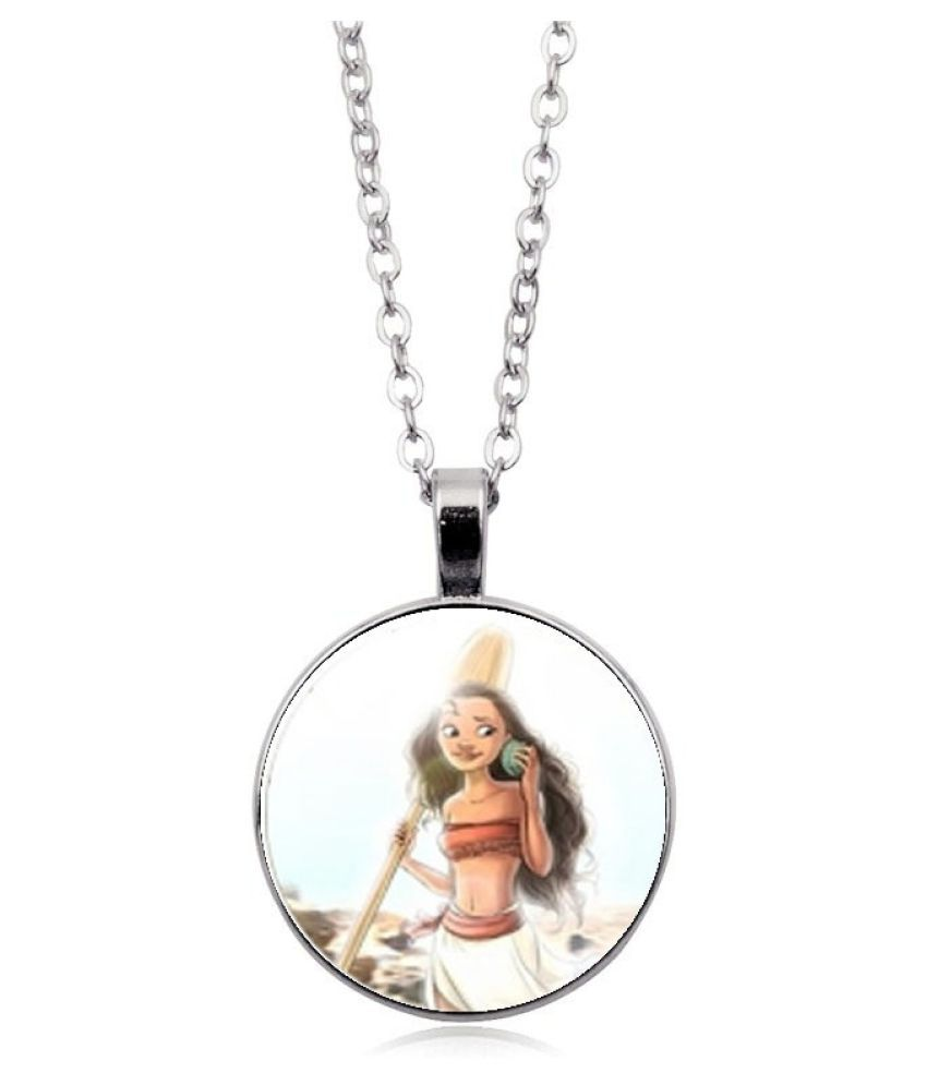 Kamalife Fashion Multi Color Pendant Gem Bling Ice Out Necklace Accessories Gift