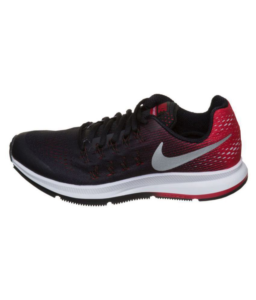 big sale 9acd4 5aa63 Nike AIR ZOOM PEGASUS 33 Red Running Shoes