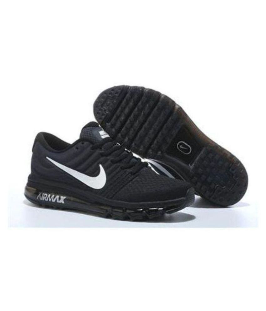 the latest f042e 9dc1e Nike Air Max 2018 Black Running Shoes