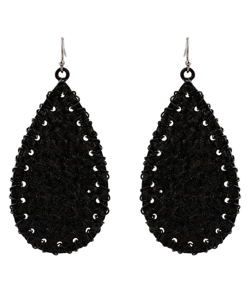 Just Women Almond Shaped Earrings