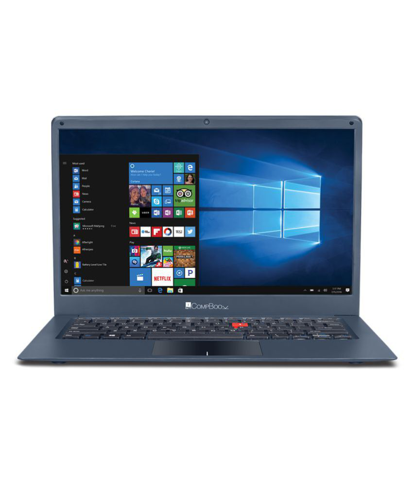 iBall Compbook Marvel 6 Notebook Intel Celeron 3 GB 35.56cm(14) Windows 10 Home without MS Office Not Applicable Blue