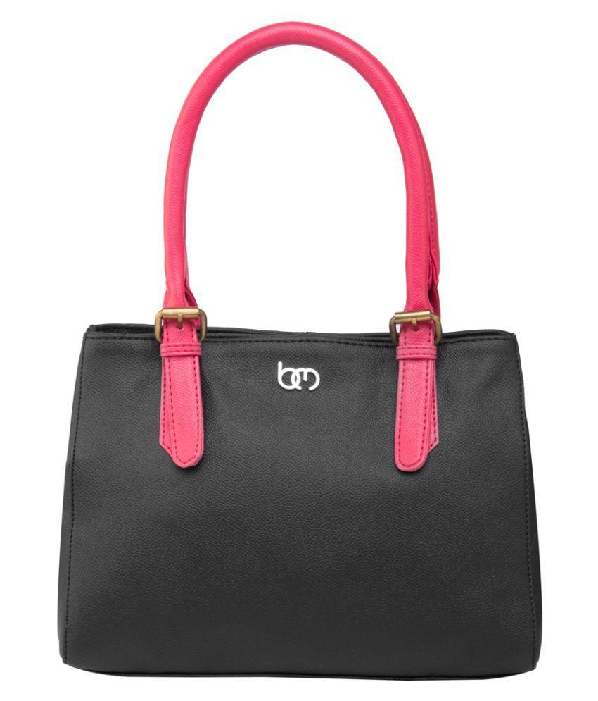 Bagsy Malone Black Faux Leather Shoulder Bag