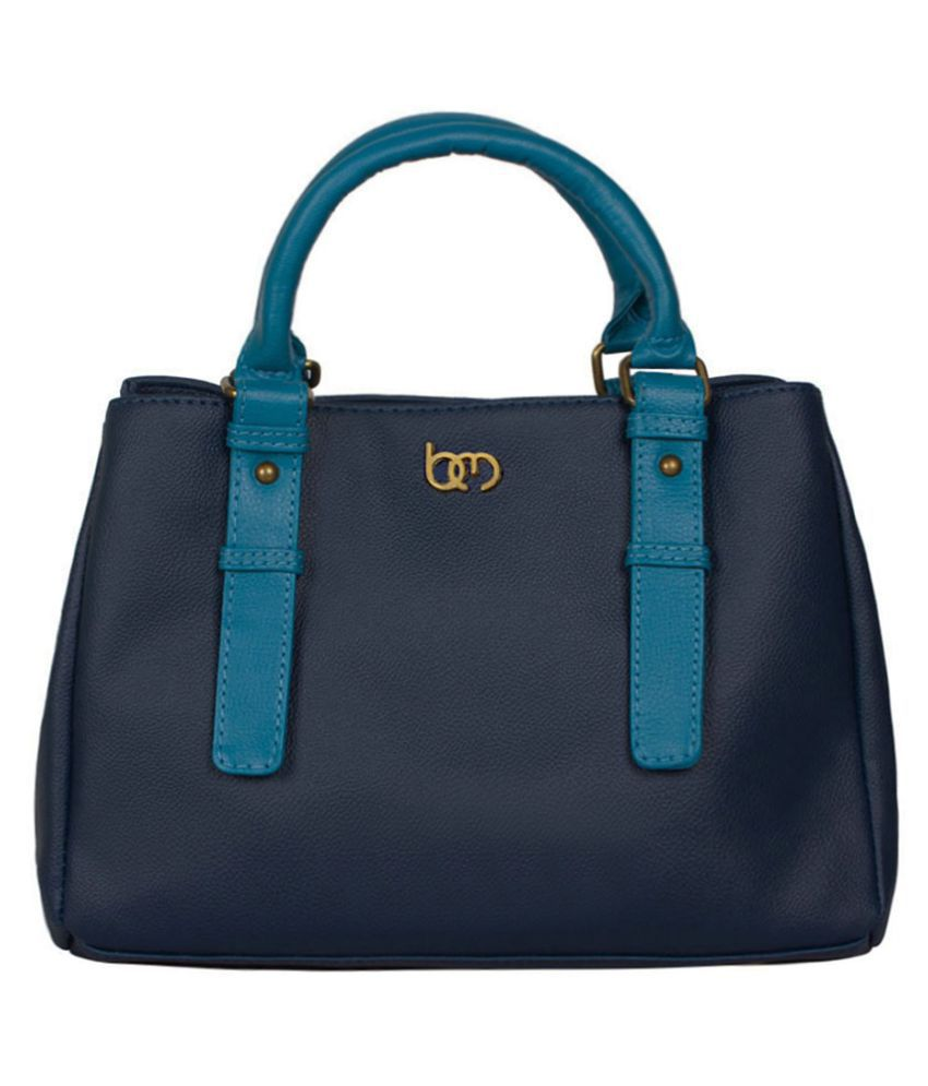 Bagsy Malone Blue Faux Leather Shoulder Bag