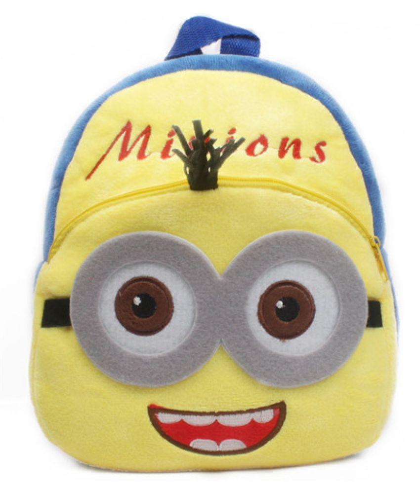 Kamalife 1-3 Years Old Plush Cartoon Cute Baby Early Education Play School Bags