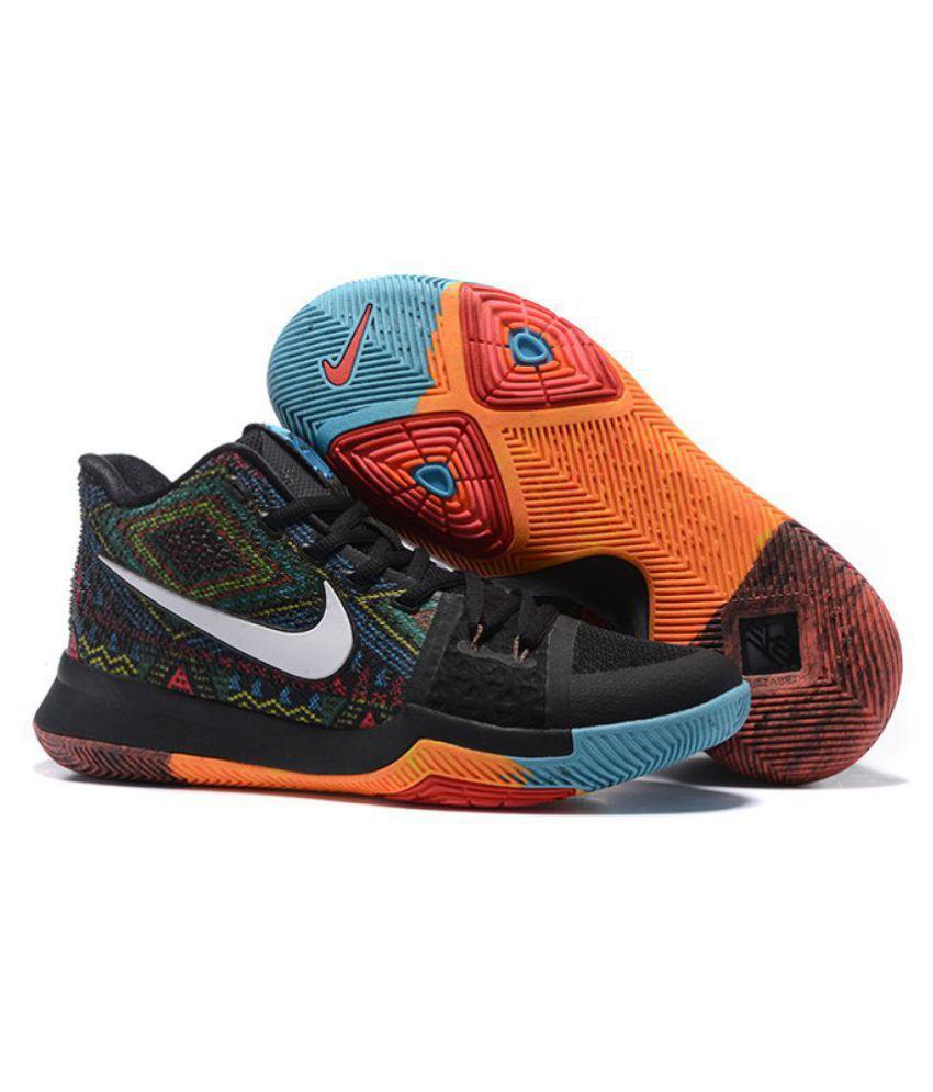 8a189f7b9a59 Nike Kyrie 3 BHM Multi Color Basketball Shoes - Buy Nike Kyrie 3 BHM ...