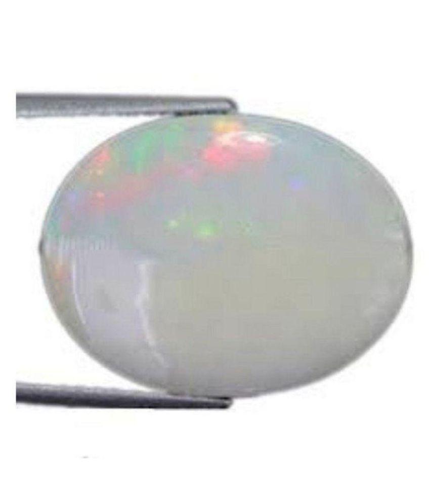 FeelTouchMart 8 -Ratti IGL White Opal Precious Gemstone
