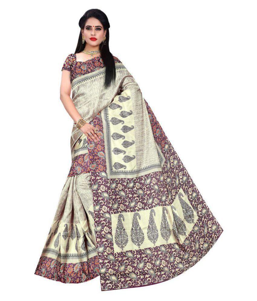 Wilori Multicoloured Bhagalpuri Cotton Saree