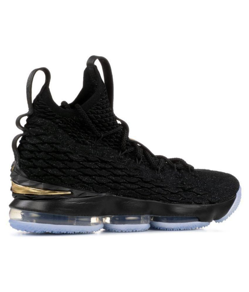 2f92e78ad670e Nike LEBRON 15 DDS Black Basketball Shoes - Buy Nike LEBRON 15 DDS ...