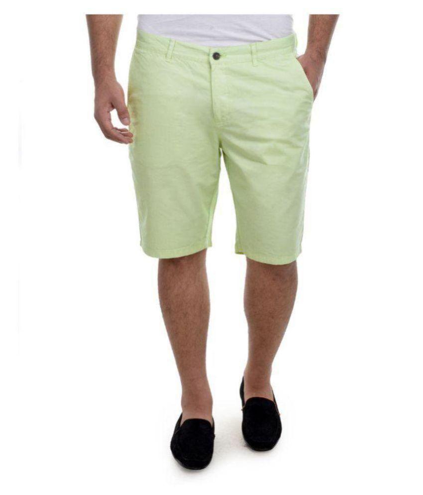 Nuluk Green Shorts