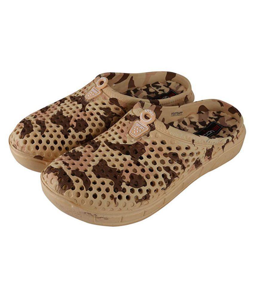 98c666719cb8a2 Falcon18 Beige Slide Flip flop Price in India- Buy Falcon18 Beige Slide  Flip flop Online at Snapdeal