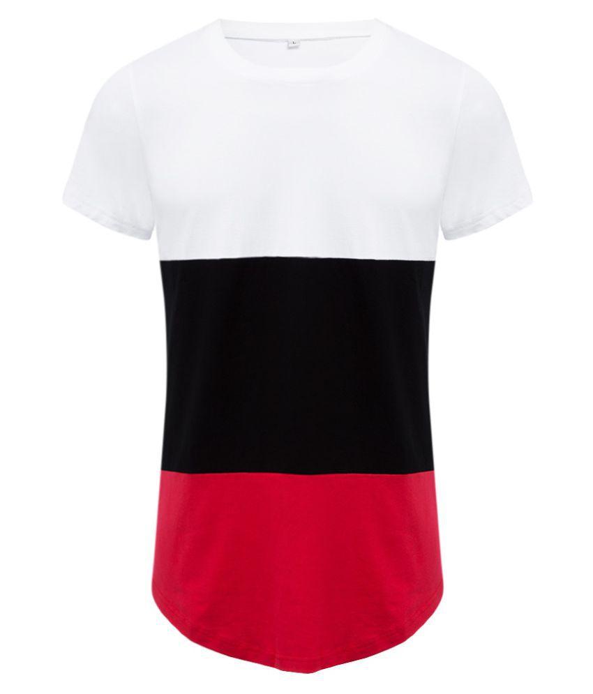 Whitleys White Round T-Shirt