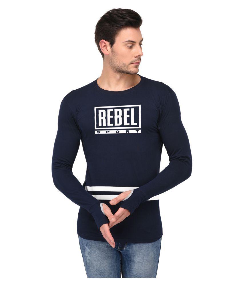 Trends Tower Navy Round T-Shirt
