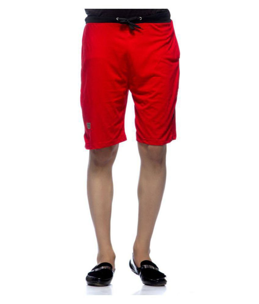 Demokrazy Red Shorts