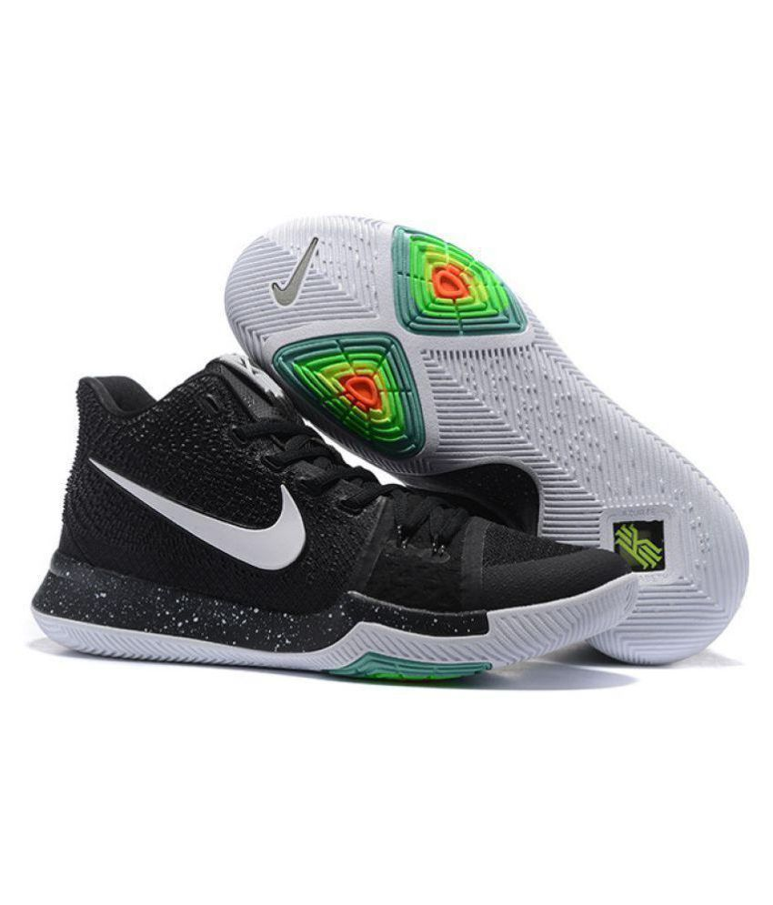 the latest 8b1d9 96caa Nike kyrie 3 black ice Black Basketball Shoes - Buy Nike kyrie 3 black ice  Black Basketball Shoes Online at Best Prices in India on Snapdeal