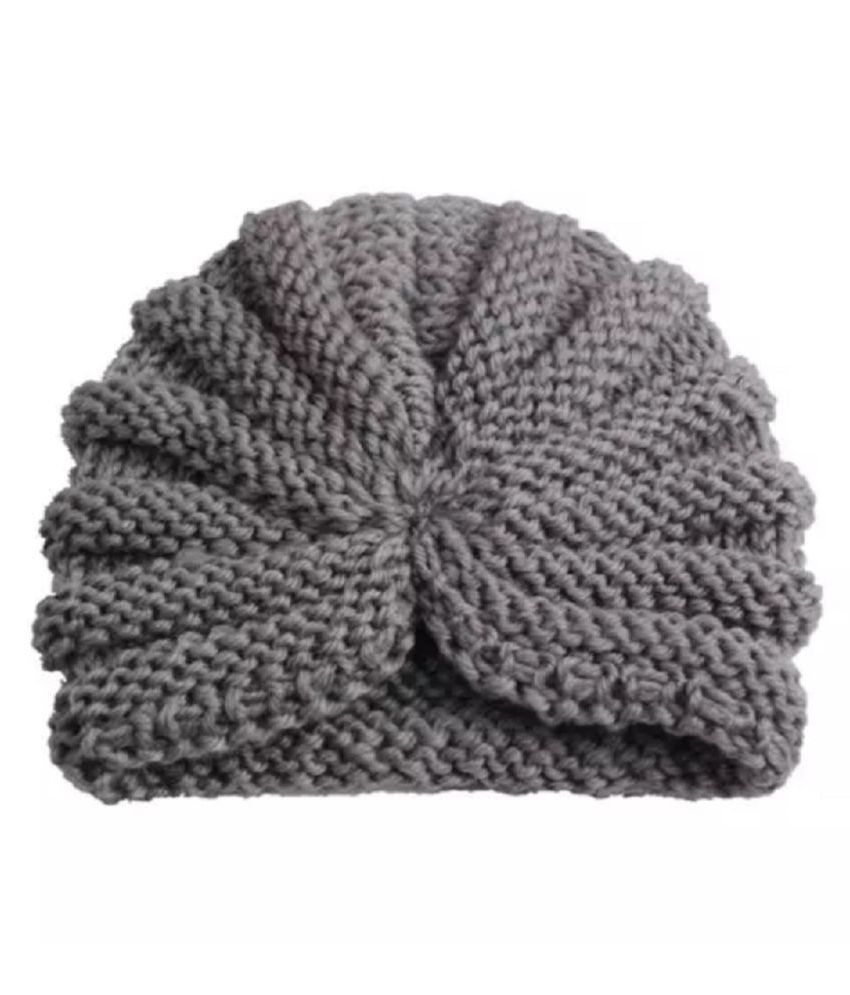 98e094b5a Ziory 1Pcs Grey Knitted Baby Hat Children Baby Caps Girls Boys Hats Newborn  Photography Props Candy Color Beanies Accessories for Baby Boys and Baby ...