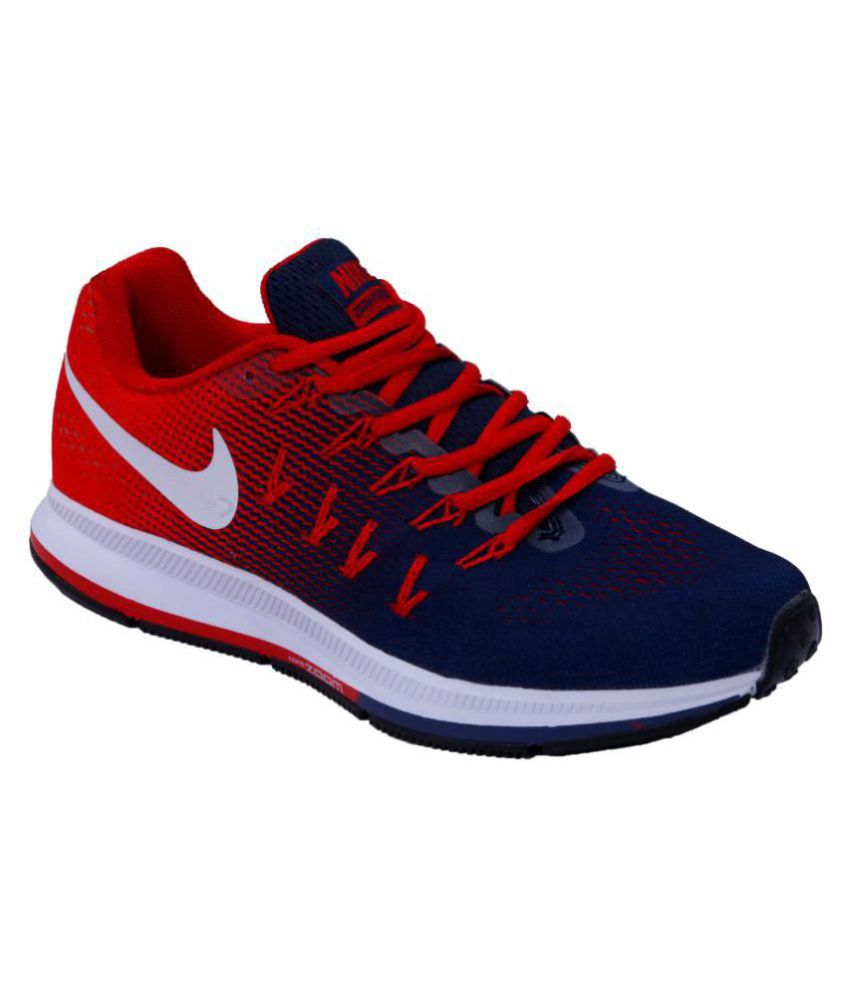 Nike Air zoom 33 pegasus Red Running Shoes - Buy Nike Air zoom 33 pegasus Red  Running Shoes Online at Best Prices in India on Snapdeal 9ee5c6dbd670