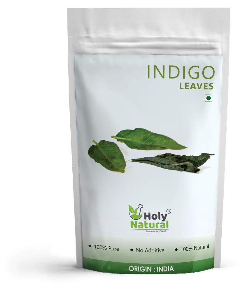 Holy Natural Indigo Leaves Temporary Hair Color Indigo 200 gm