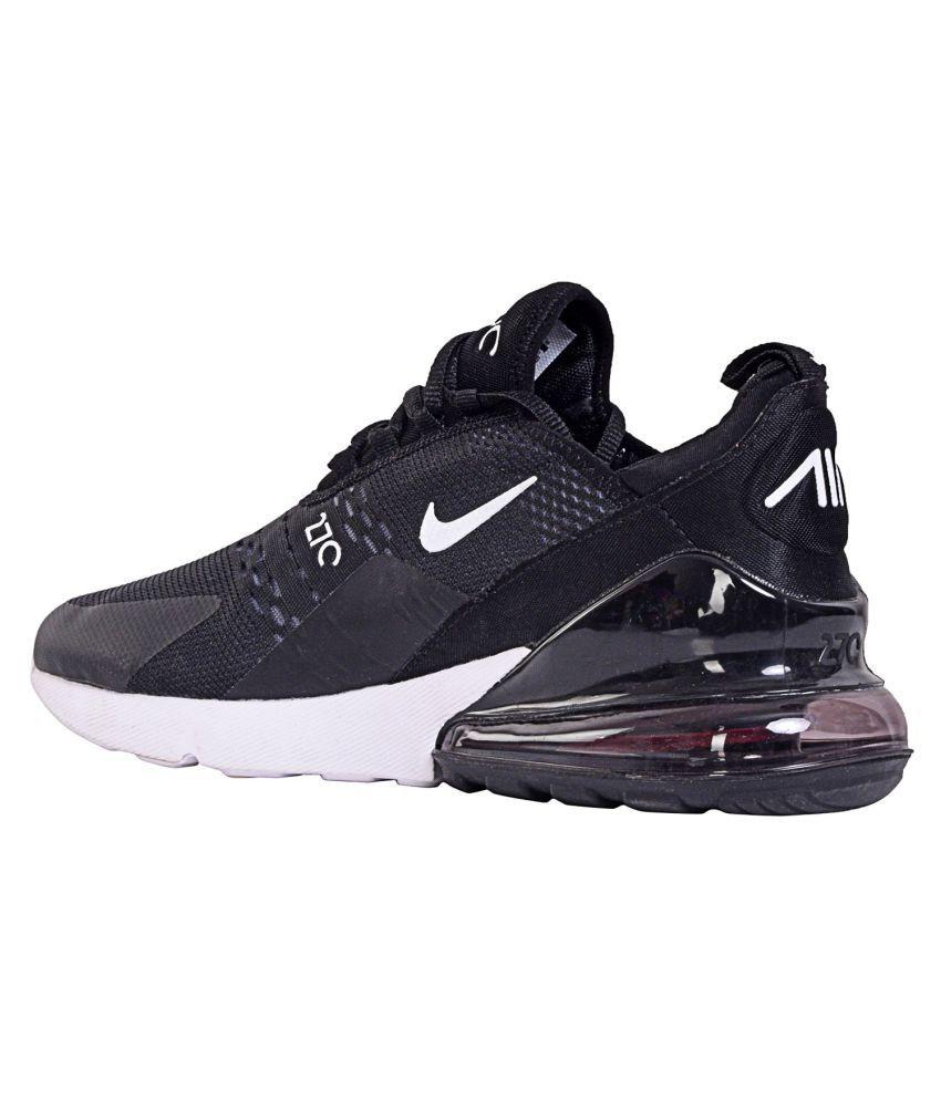 Nike AIR MAX 270 Black Running Shoes
