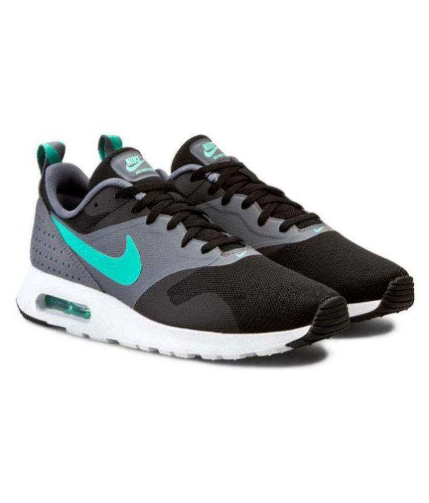 competitive price bae3c a2ee6 ... usa nike air max tavas lifestyle black casual shoes bcb74 85a4c