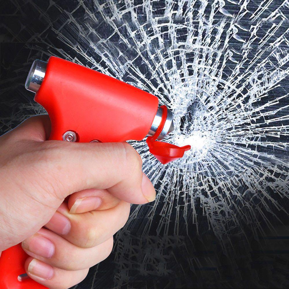 Spartan Mini Emergency Rescue Hammer For Window Glass Breaking & Seat-belt Cutting